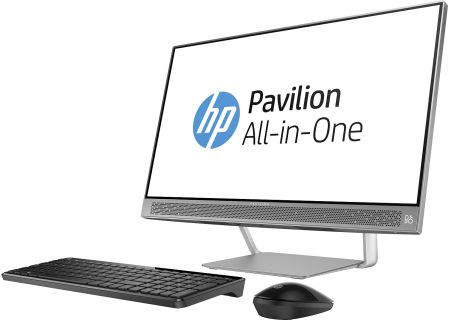 HP Pavilion Silver All-In-One Desktop Computer - 24-A210
