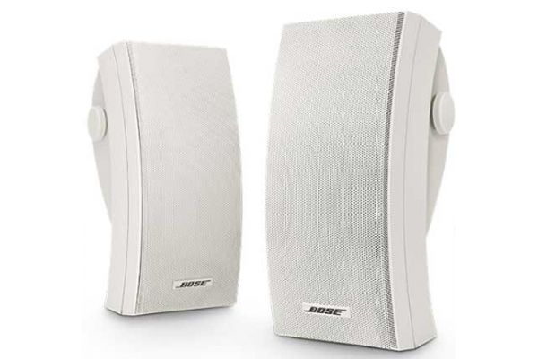 Large image of Bose 251 Environmental Speakers - White (Pair) - 24644
