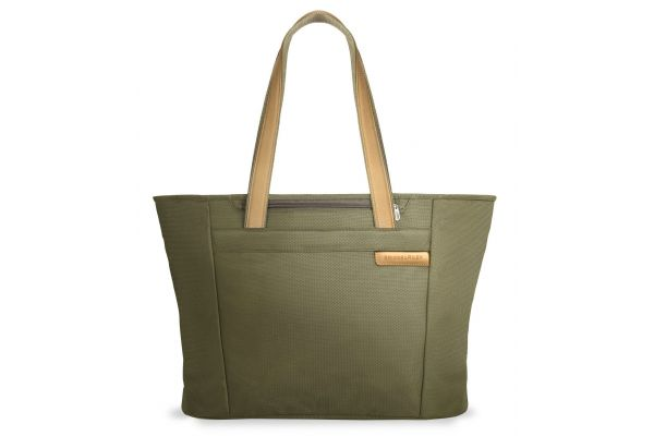 Briggs & Riley Olive Large Shopping Tote  - 255-7