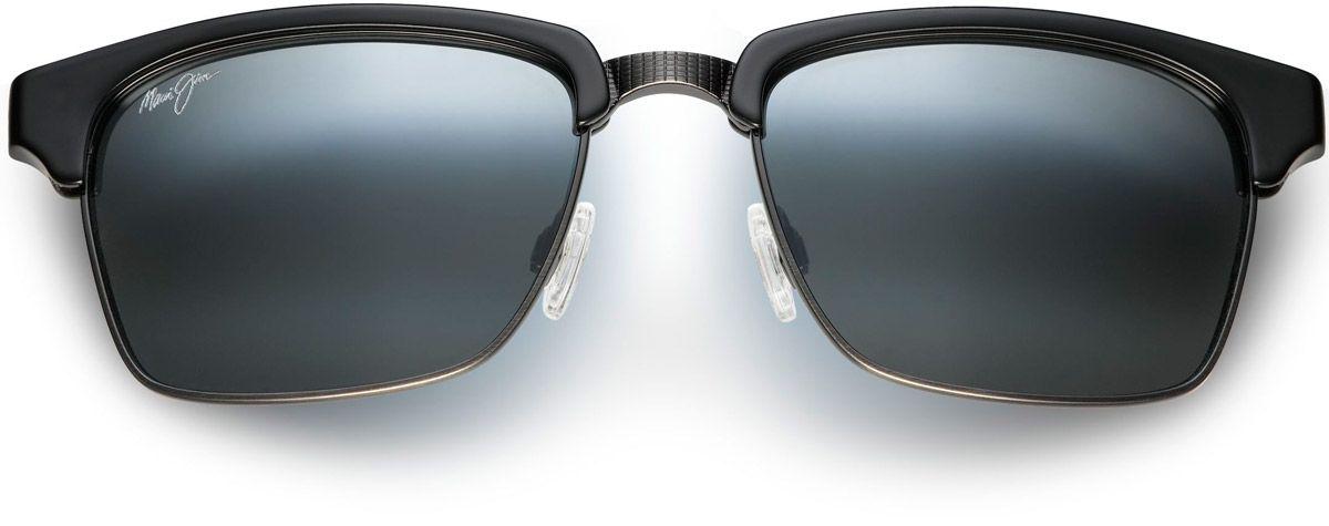 bf56d9162b7 Maui Jim Kawika Gloss Black Square Mens Sunglasses - 257-17C