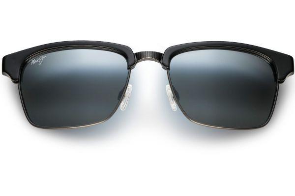 Maui Jim Kawika Gloss Black Square Mens Sunglasses - 257-17C