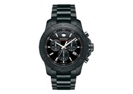 Movado Series 800 Black Mens Watch - 2600119