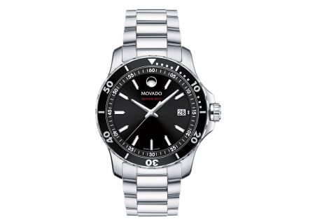 Movado Series 800 Stainless Steel Mens Watch - 2600135