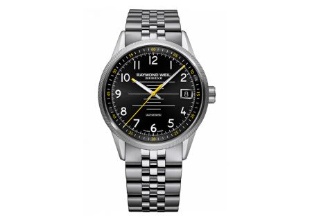 Raymond Weil Freelancer Black Dial Mens Watch - 2754ST05200