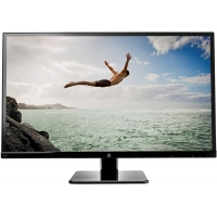 "HP 27"" Black LED Computer Monitor"