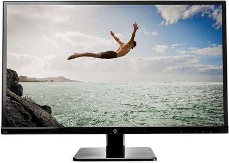 "HP 27"" Black LED Computer Monitor - 27SV"