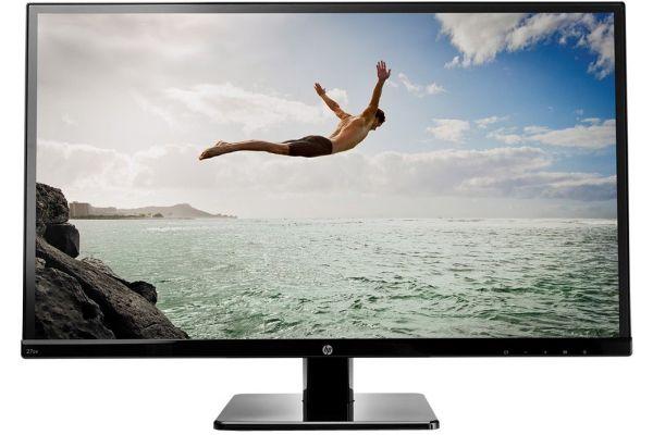 "Large image of HP 27"" Black LED Computer Monitor - 27SV"
