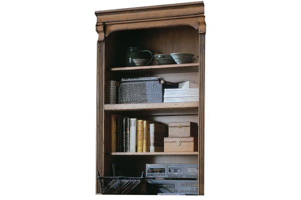 """Large image of Hooker Furniture Home Office Brookhaven 32"""" Open Hutch - 281-10-417"""