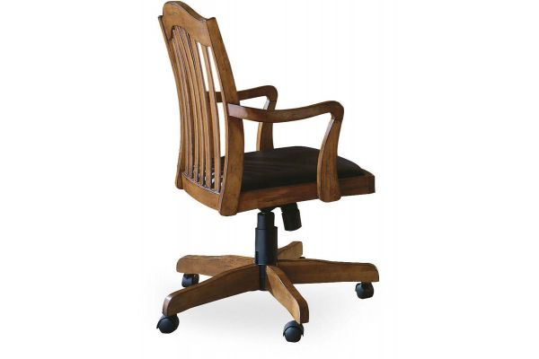 Large image of Hooker Furniture Home Office Brookhaven Tilt Swivel Chair - 281-30-275