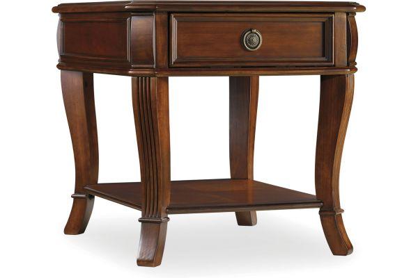 Hooker Furniture Living Room Brookhaven End Table - 281-80-113