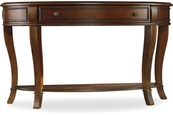 Large image of Hooker Furniture Living Room Brookhaven Console Table - 281-80-151