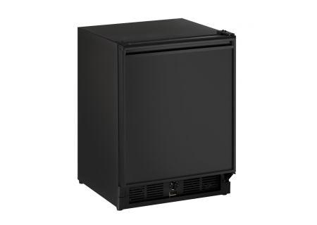 "U-Line 21"" Black Undercounter Refrigerator - U-29RB-00A"