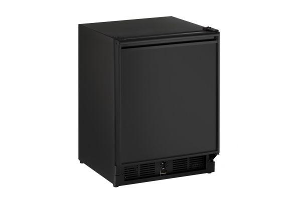 "Large image of U-Line 21"" Black Undercounter Refrigerator - U-29RB-00A"