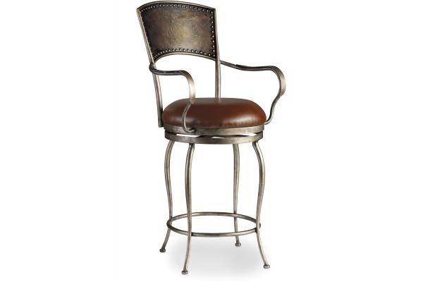 Large image of Hooker Furniture Dining Room Zinfandal Barstool - 300-20024