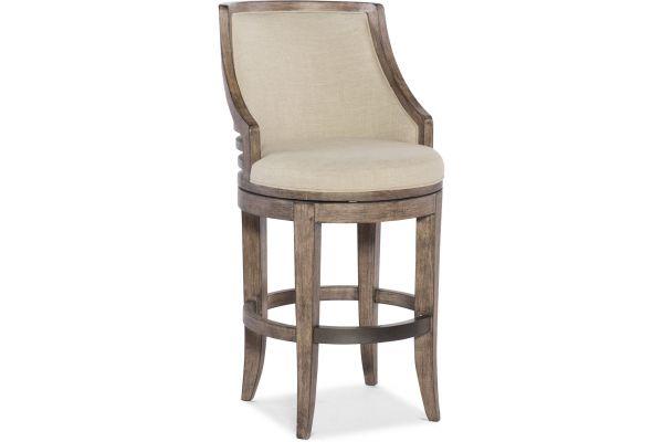 Large image of Hooker Furniture Dining Room Lainey Transitional Barstool - 300-20053