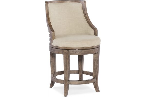Hooker Furniture Dining Room Lainey Transitional Counter Stool - 300-25053