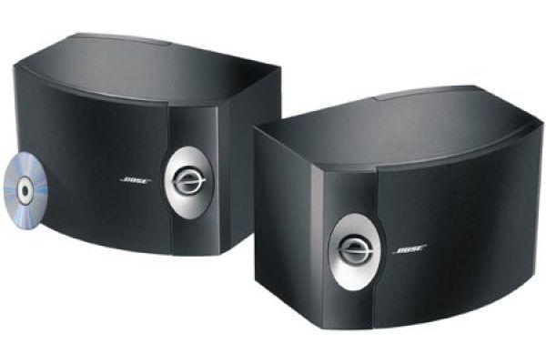 Bose 301 Series V Direct/Reflecting Black Bookshelf Speakers (Pair) - 29309