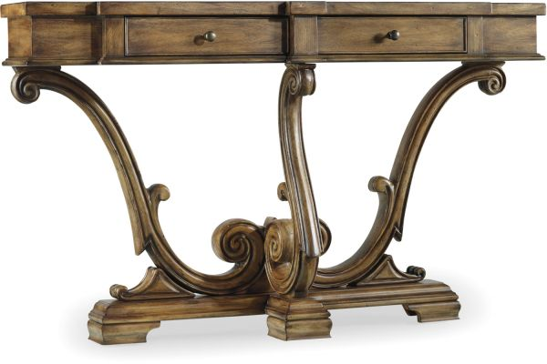 Large image of Hooker Furniture Living Room Sanctuary Thin Console - 3022-85001