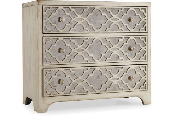 Large image of Hooker Furniture Living Room Sanctuary Fretwork Chest - 3023-85001