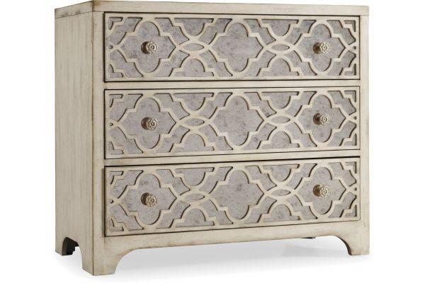 Large image of Hooker Furniture Living Room Sanctuary Fretwork Chest - 3023-85001