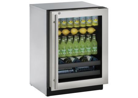 U-Line - U-3024BEVS-13A - Wine Refrigerators and Beverage Centers