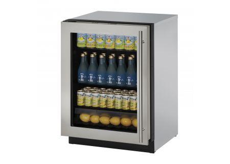 U-Line - U-3024RGLS-01A - Compact Refrigerators