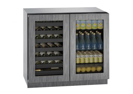"U-Line 36"" Panel Ready Integrated Beverage Center - U-3036BVWCINT-00B"