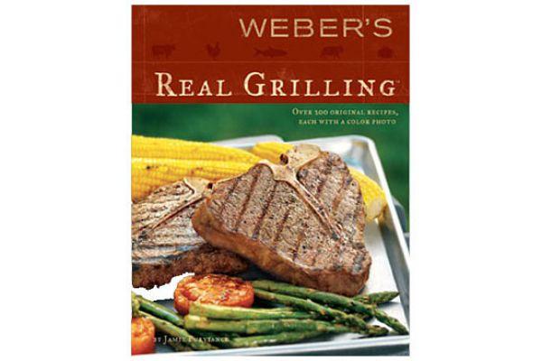 Large image of Weber Real Grilling Cookbook - 312