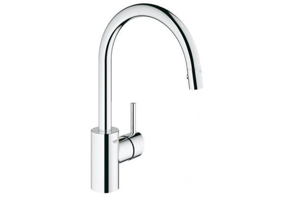 GROHE Concetto Chrome Single Lever Kitchen Faucet - 32665001