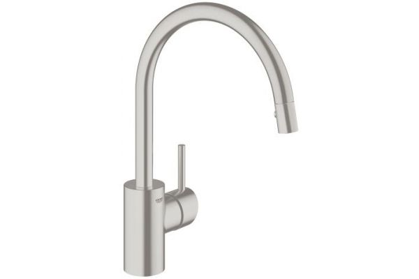 GROHE Concetto Supersteel Single Lever Kitchen Faucet - 32665DC1