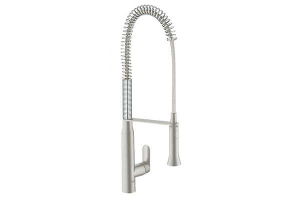 Large image of GROHE K7 Stainless Steel Single-Lever Faucet  - 32951DC0
