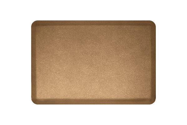Large image of WellnessMats Granite Collection 3x2 Ft. Gold Mat - 32WMRGG