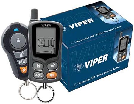 Viper Responder 350 2 Way Security System 3305v Abt