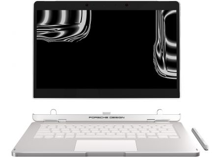 Porsche Design Book One Pure Silver 2-In-1 Notebook Computer - 33104