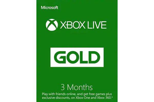 Microsoft Xbox Live 3-Months Gold Membership - 33631