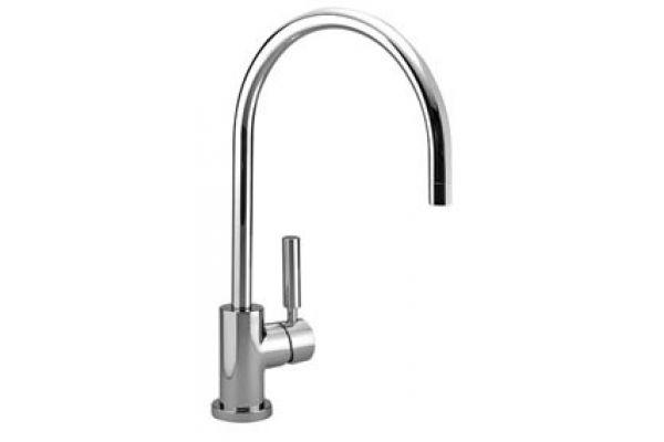 Large image of Dornbracht Tara Classic Chrome Single-Lever Kitchen Faucet  - 33815888-490010