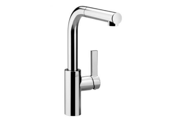 Large image of Dornbracht Elio Chrome Single-Lever Kitchen Faucet  - 33840790-000010