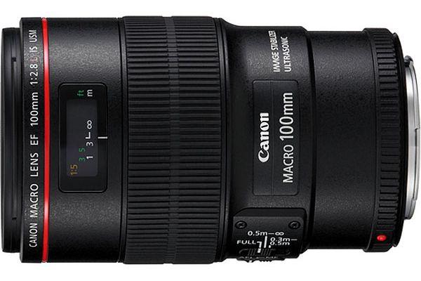 Canon EF 100mm f/2.8L IS USM Macro Camera Lens - 3554B002