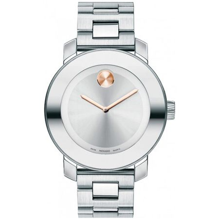 Movado Bold Medium Stainless Steel Unisex Watch
