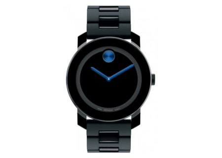 Movado Bold Black Stainless Steel Unisex Watch - 3600099