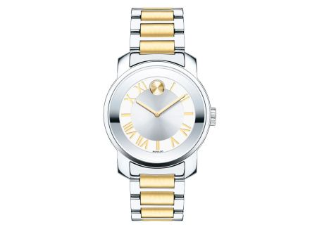Movado Bold Luxe Midsize 32mm Two-Tone Quartz Womens Watch - 3600245