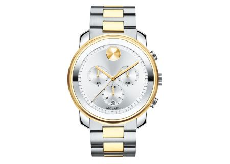 Movado Bold Large Chronograph Two-Tone Mens Watch - 3600432