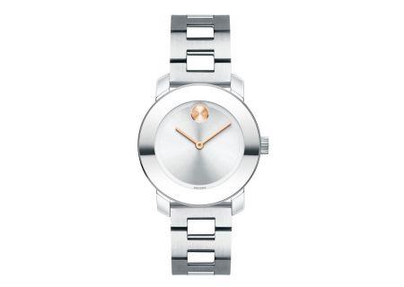 Movado Bold Quartz Stainless Steel Women's Watch - 3600433