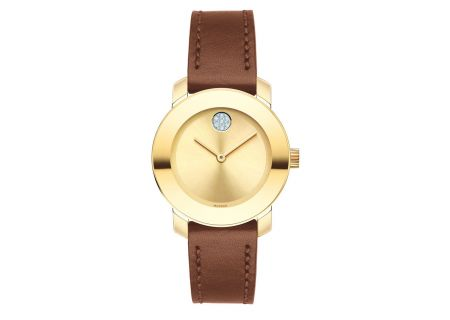 Movado Bold Quartz Yellow Gold Womens Watch - 3600437