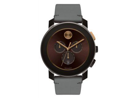 Movado Bold Chronograph Brown Unisex Watch - 3600445