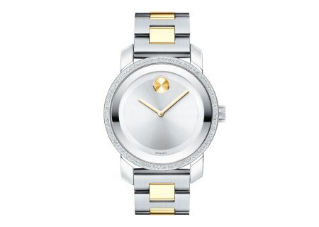 Movado BOLD Two-Toned Diamond Womens Watch - 3600451