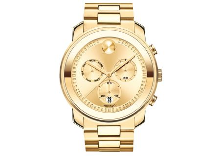 Movado Bold Yellow Gold Unisex Watch - 3600485