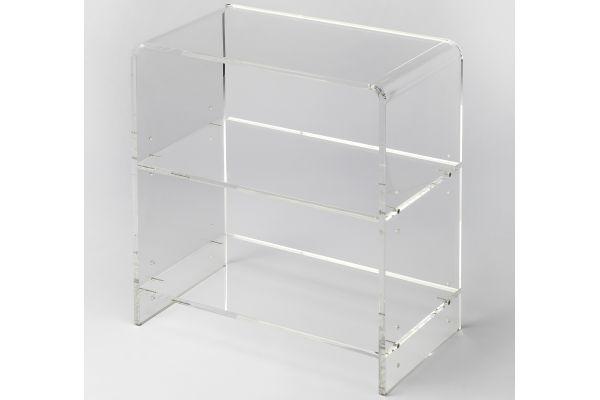 Large image of Butler Specialty Company Clear Acrylic Bookcase - 3611335