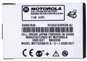 Motorola - 363128 - Cellular Rechargeable Batteries