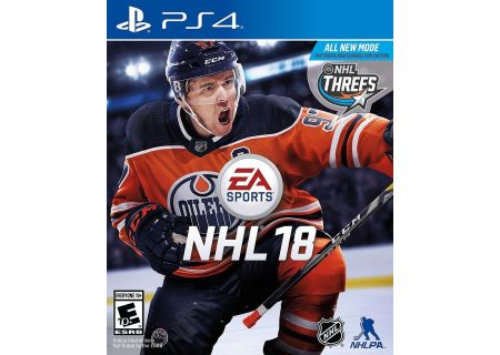 Sony PlayStation 4 NHL 18 Video Game - 36999